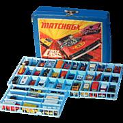 SALE PENDING c1971 46 Hot Wheels, Matchbox, Lesney Etc. Cars With 1971 Vintage Matchbox Case