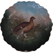 Bavarian Red Grouse in Brush Wall Plate