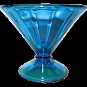 Fenton #736 Celeste Blue Candy Dish