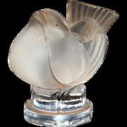 Lalique Art Glass Sparrow