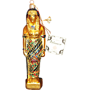 SALE PENDING Polanaise Egyptian god Izis Ornament