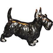 Royal Doulton Black Scotty Dog Figurine HN1016