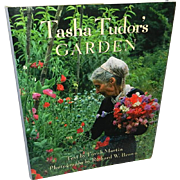 SOLD Tasha Tudor's Garden Book by Martin & Brown