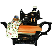 SOLD Cardew Design Made in England Infusion Sewing Machine Tea Pot