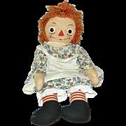 "23"" Georgene Novelties Raggedy Ann Doll"
