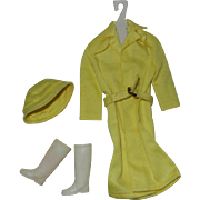 1963 Mattel Barbie Outfit #949 Rain Coat