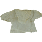 Wonderful Antique Blouse For Your French or German Bisque Head Doll