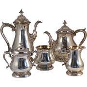 5 pc Shreve & Co Sterling Tea and Coffee Service
