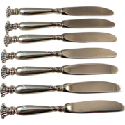 Seven Butter Spreaders.  Wallace Romance of the Sea