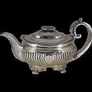 Georgian Period Sterling Silver Tea Pot