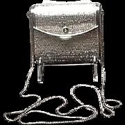 VIntage Leiber Minaudiere with Swarovski Crystals and Shoulder Chain