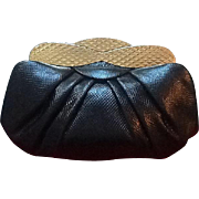 Vintage Leiber Karung Handbag with Stunning Frame ***MINT***