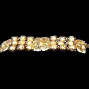 OUTRAGEOUS Vintage Statement Bracelet by Lanvin