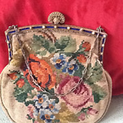 SOLD Vintage Tapestry Purse - Red Tag Sale Item