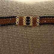 SALE Vintage Designer Dog Collar Necklace