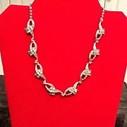 VIntage Schiaparelli Rhinestone Necklace