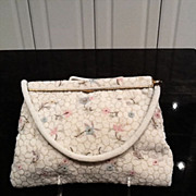 Vintage French Beaded Evening Purse