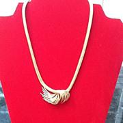 SALE ***SALE***Vintage Grosse Necklace with Decorative Statement Piece