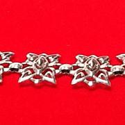 SALE Vintage Schiaparelli Silvertone Bracelet
