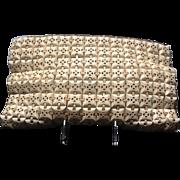 SOLD VIntage Plastic TIles WWII Bag