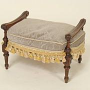 Louis XVl style footstool