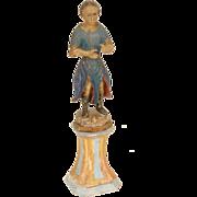 Santos wood carved figure