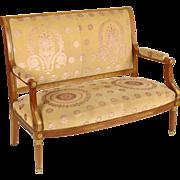 Empire style settee