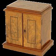 English Edwardian jewelry box