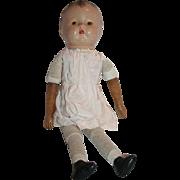 SALE Antique German Composition Wooden Limbs Doll