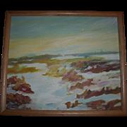 SALE Southwest Impressionist Landscape Oil Painting
