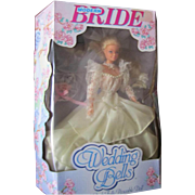 SALE NIB Modern Bride Wedding Bells 1990 Very Rare Doll