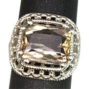 SALE Natural Imperial Topaz 14k Ring. FREE SIZING