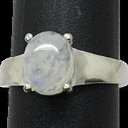 14k Moonstone Ring, FREE SIZING, W-Y-R