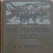 SALE Bower, The Phantom Herd Hardback Book