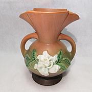 REDUCED Roseville Gardenia Vase 684-8
