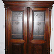 SALE Antique Dutch  Cupboard From New York area