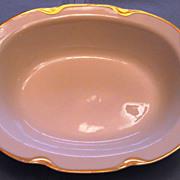 SOLD Oval Serving Bowl Haviland Limoges Silver Anniversary Pattern Schleiger 19 c1900