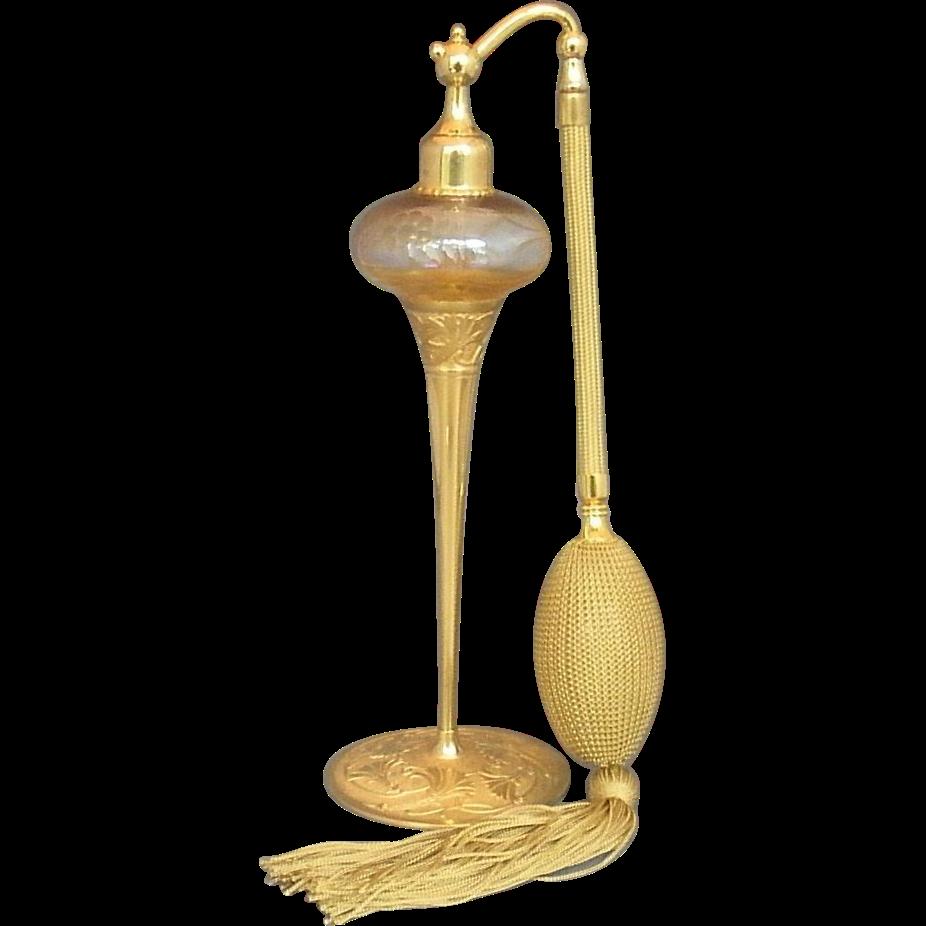 DeVilbiss Art Nouveau Perfume Atomizer 1928