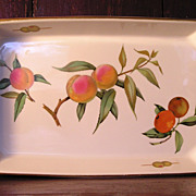 "Royal Worcester ""Evesham"" Rectangular Baking Dish"