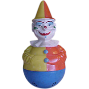 Wonderful Old Rolly Toys Clown