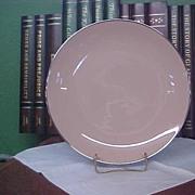 Franciscan Fine China – Encanto Pattern Sandalwood Dinner Plate with Platinum Trim
