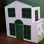 REDUCED Sweet Homemade Dollhouse with Some Furnishings