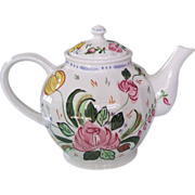 SALE Blue Ridge Pottery  Nove Rose or Verna Teapot