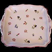 Villeroy & Boch Petite Fleur Square Handled Cake Plate V & B