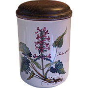 "Villeroy & Boch Botanica Storage Jar Stachys Officinalis 6"""