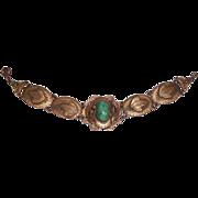 SALE Art Nouveau Czech Peking Glass Bracelet
