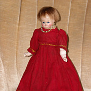 Darling Antique Wax Doll