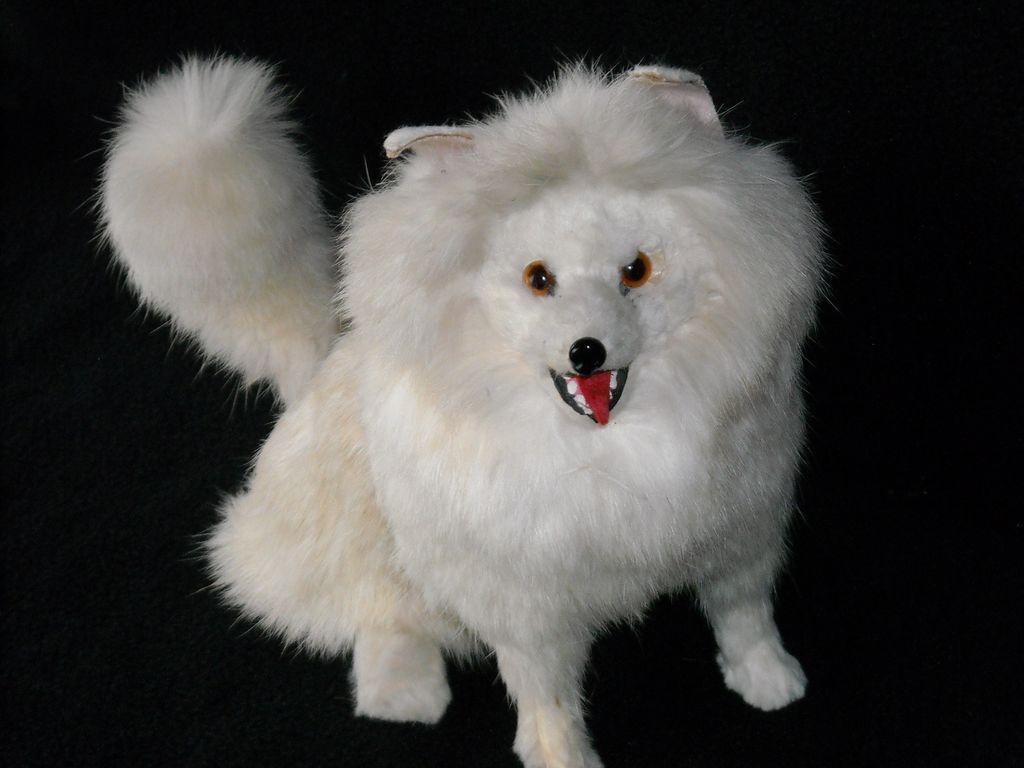 Antique Sitting Dog, Best Friend for Your Doll