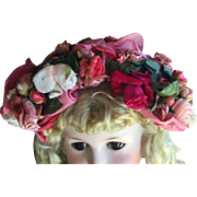 SOLD Absolutely Vintage Gorgeous Rose Hat