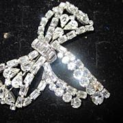 """Karu"" Fifth Ave Elegant & Rare Bow Brooch/Pin"